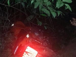 Após sofrer acidente, mototaxista espera seis horas por socorro, em RO (Foto: Ivon Camillo/Alerta Notícias)