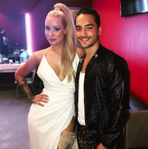 Iggy Azalea e Maluma no MTV (Foto: Reprodução)