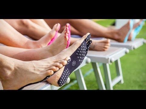 Nakefit: adesivo para os pés ganha financiamento coletivo (e gera buzz na web) (Foto: Divulgação)