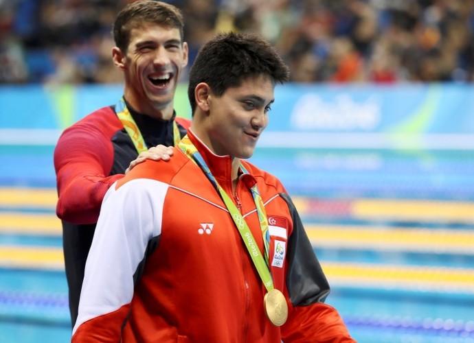 natação; olimpíada 2016; Joseph Schooling; Michael Phelps (Foto: REUTERS/Stefan Wermuth)