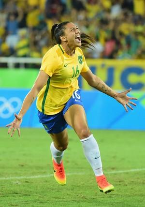 Beatriz, Brasil X Suécia (Foto: GettyImages)