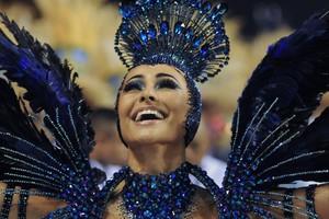 FOTOS: veja imagens do desfile da campeã Vila Isabel  (Alexandre Durão/G1)