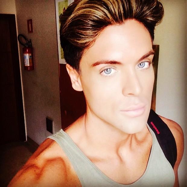 Maurício Galdi, Novo Ken Humano (Foto: Reprodução/Instagram)