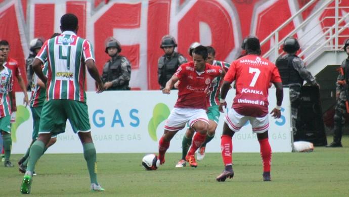 Daniel Morais América-RN x Baraúnas (Foto: Canindé Pereira/Divulgação)