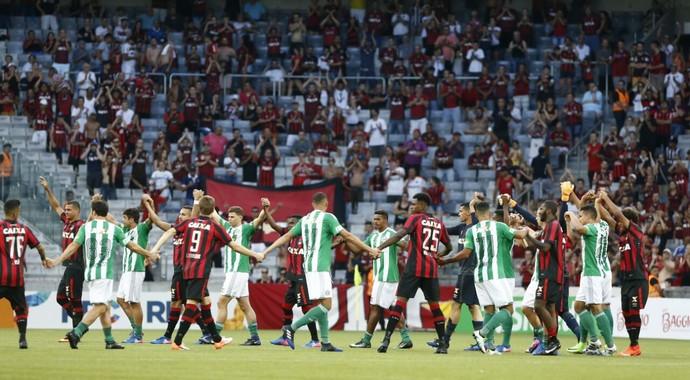 Arena da Baixada, atlético-pr, Coritiba (Foto: Hugo Harada/Gazeta do Povo)
