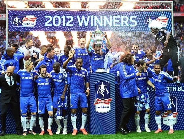 Chelsea campeão da Copa da Inglaterra (Foto: Getty Images)