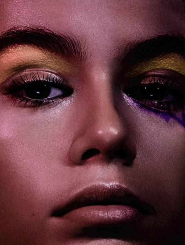 A modelo Kaia Geber (Foto: Reprodução)