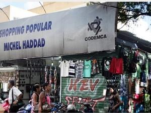 Shopping Popular Michel Haddad. (Foto: Divulgação/Prefeitura de Campos)