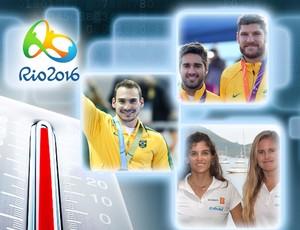 BLOG: Termômetro olímpico: dupla da praia lidera, Zanetti encosta, e judocas saem do top 10