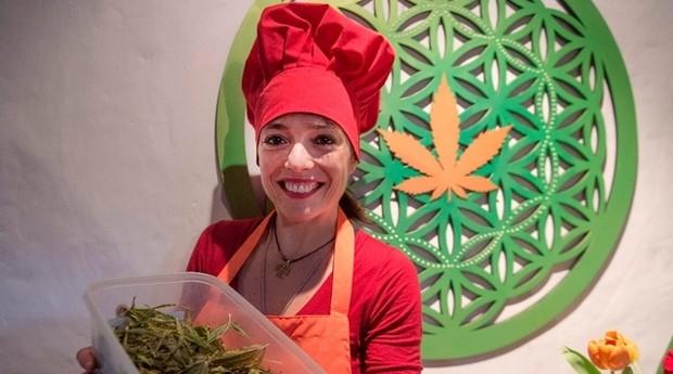 Natalia Revelant, da Fundação Daya: receitas com maconha (Foto: Divulgação)