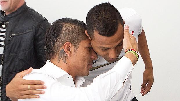 Paolo Guerrero, novo reforço do Corinthians (Foto: Daniel Augusto Jr. / Agência Corinthians)