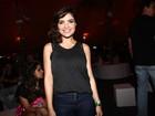 Vanessa Giácomo acompanha namorado em noite de rock no RIR
