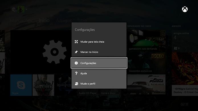 Xbox One: como salvar e gerenciar saves na nuvem (Foto: Reprodução/Murilo Molina)