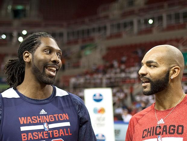 Nenê basquete treino Rio de Janeiro Washington Wizards (Foto: AP)