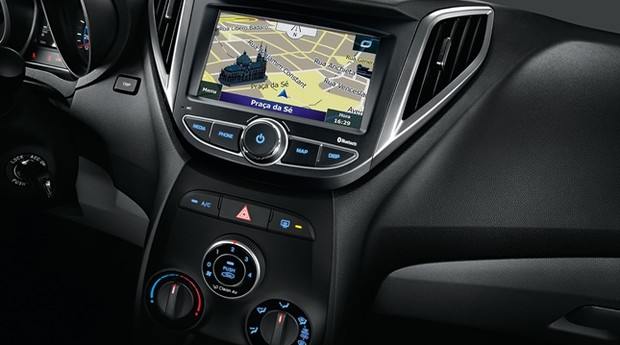 Hyundai HB20 ganha central multimídia CORTE 940X628 (Foto: Divulgação)
