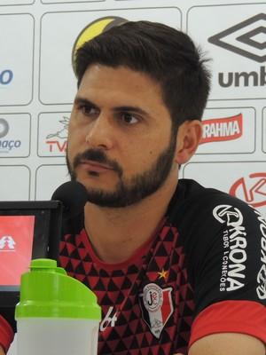 Alexandre Souza Joinville preparador físico (Foto: João Lucas Cardoso)
