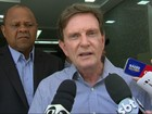 Crivella diz que pretende fazer prefeitura colaborar com segurança