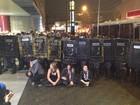 Ato contra Copa em SP tem detidos em metrô após ataque contra bancos