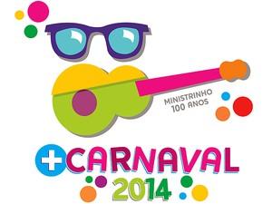 Logomarca Carnaval 2014 Juiz de Fora  (Foto: Funalfa / Divulgação)