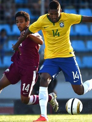 Wallace Brasil e Quatar Toulon (Foto: Agência AFP )