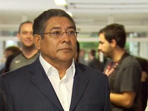 Demétrio Vilagra, prefeito cassado de Campinas chega em julgamento em que é réu. (Foto: Reprodução EPTV)