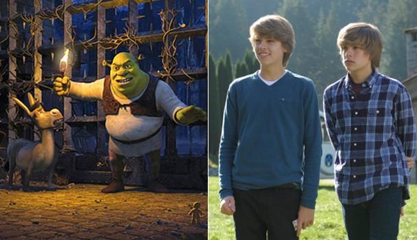 Divirta-se com 'Assustando Shrek' e Zack e Cody - O Filme', neste sábado (Foto: Divulgação/Reprodução)