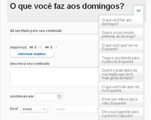 Participe do Esquenta (Foto: Esquenta / TV Globo)