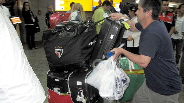 equipamentos terminal desembarque São Paulo (Foto: Rodrigo Faber)
