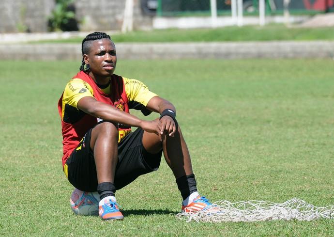 diego maurício sport (Foto: Aldo Carneiro / Pernambuco Press)