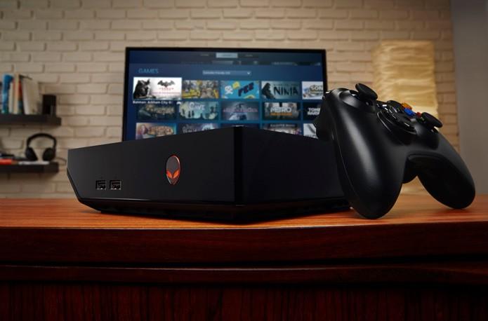 Cara de console no formato PC é a aposta do Alienware Alpha (Foto: Divulgação)