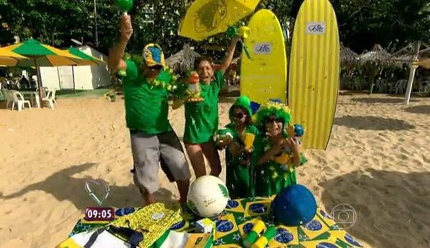 Família Costa foi a vencedora (Foto: Reprodução/ Mais Você)
