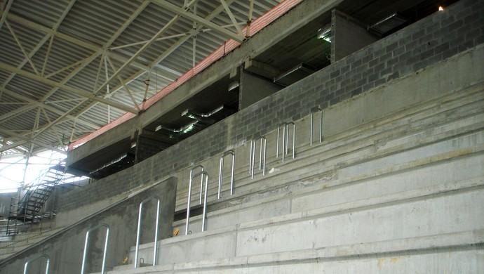 Cabines Jornalistas Arena Palestra Allianz Parque (Foto: Felipe Zito)