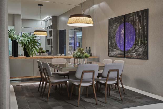 Banco Dois Lugares Sala De Jantar ~ 17 ambientes sopram novas ideias para o lar  Casa Vogue  Ambientes