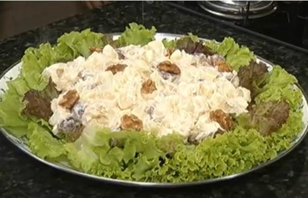 Receita Salada Natalina - MG Inter TV 1ª Edição (Foto: Reprodução)