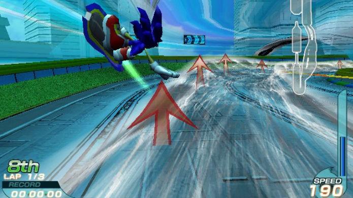 Sonic Riders tinha boas ideias, mas não as executou bem (Foto: Reprodução/YouTube)