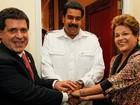 'Quem não fica contente com o crescimento?!', diz Dilma sobre o PIB