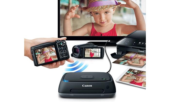 Connect Station CS100 permite transmitir conteúdo da câmera para TV (Foto: Divulgação/Canon)