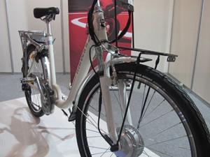 Bicicletas elétricas prometem facilitar vida do ciclista (Foto: Nathália Duarte/G1)