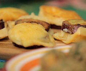 Batata-doce com queijo Serra da Canastra