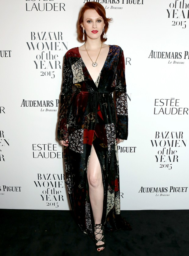 Karen Elson no Women of the Year Awards 2015 (Foto: Getty Images)