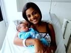 Primeiro bebê de 2017 em Piracicaba se chama Davi e nasce com 3,3 quilos