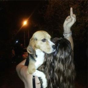 Fabiana Justus posta foto sobre Beagles (Foto: Instagram/Reprodução)