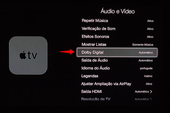 Dolby Digital também pode causar conflitos com o som. (Foto: Alessandro Junior/TechTudo) (Foto: Dolby Digital também pode causar conflitos com o som. (Foto: Alessandro Junior/TechTudo))
