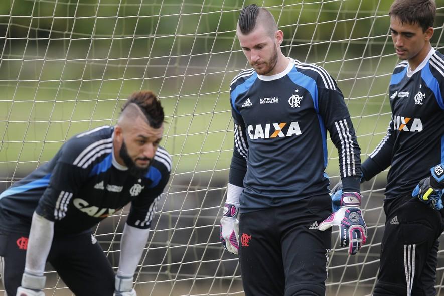 Goleiros Do Flamengo No Treino Em Mangaratiba
