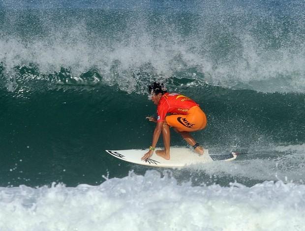 surfe Filipe Toledo em Lacanau WQS cinco estrelas (Foto: AFP)