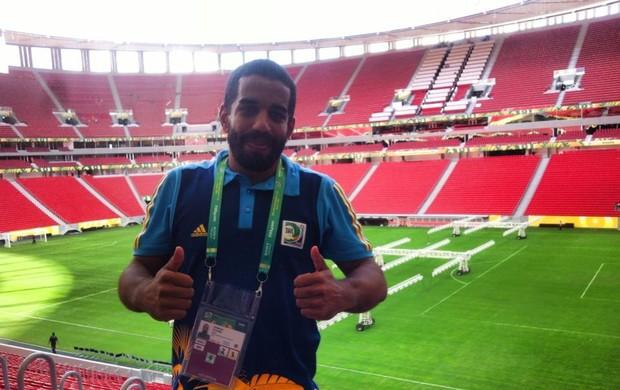 arnaldo cadaxa voluntario brasilia (Foto: Arquivo Pessoal/ Divulgação)