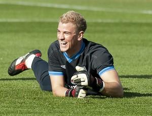 Joe Hart goleiro Inglaterra (Foto: EFE)