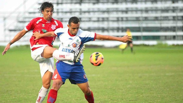 Leandro Kível, atacante do Sergipe (Foto: Jorge Henrique / Divulgação)