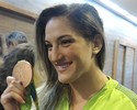 """Após bronze, Mayra Aguiar diz que pódio no Rio tem """"sabor muito melhor"""""""