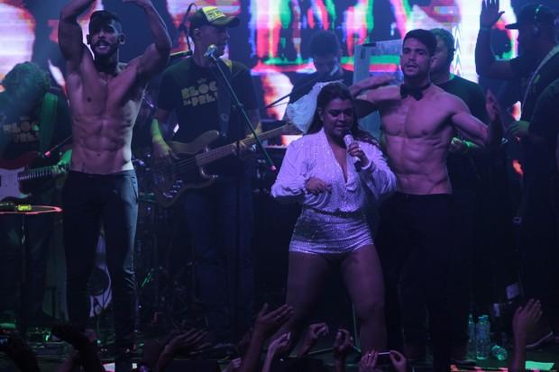 Preta Gil durante show temático em boate no Rio (Foto: Marcello Sá Barreto/AG News)